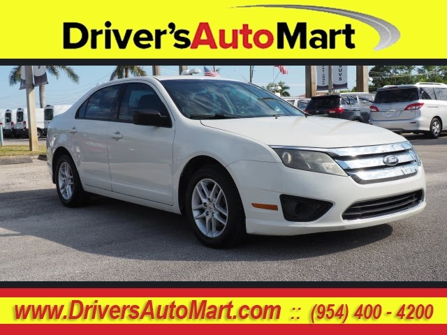 Pre-Owned 2012 Ford Fusion S