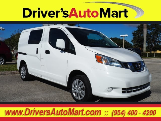 Pre Owned 2017 Nissan Nv200 Sv Sv 4dr Cargo Mini Van In Davie