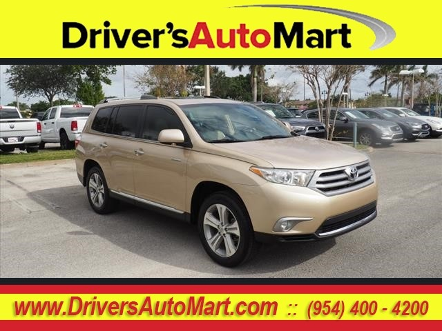 pre owned 2013 toyota highlander limited limited 4dr suv in davie rh driversautomart com 2015 toyota highlander service manual 2013 toyota highlander service manual pdf